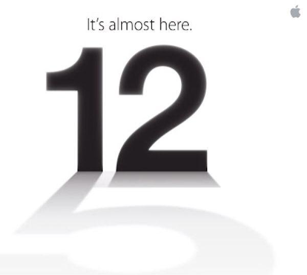 Appleイベント招待状2012