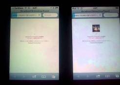 iPod touchとiPhone4Sの速度比較[WiMAX版]